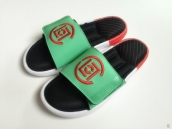 Adidas Slippers Black Green White Red