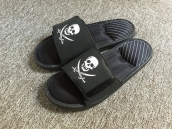 Adidas Slippers Black White