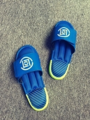Adidas Slippers Blue Green