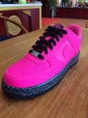 Nike Air Force One Women Pink Black
