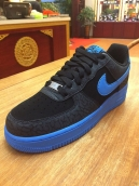 Nike Air Force One Black Blue