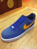 Nike Air Force One Blue Yellow