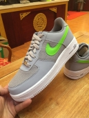 Nike Air Force One Grey Green White