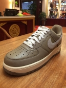 Nike Air Force One Leather Grey White