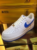 Nike Air Force One White Blue