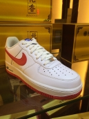 Nike Air Force One White Red