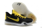 Nike Kobe X Black Yellow