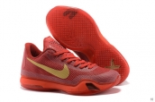 Nike Kobe X Red Golden