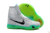 Nike Kobe X High Grey Black Green