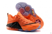 Nike Lebron 12 Low EP Orange Black