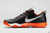 Nike Lebron Low Zoom Elite 7 Black Orange Silvery