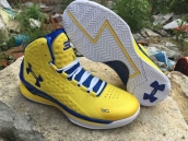 Ua Curry One Yellow Blue White