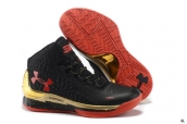 Ua Curry One Black Golden Red