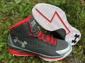 Ua Curry One Grey Red White