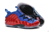 Air Foamposite One Red Blue