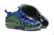 Air Foamposite One Green Blue