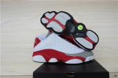 Air Jordan 13 Low AAA White Grey Red