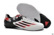 Adidas Messi 10-3 IC White-Granite-Scarlet