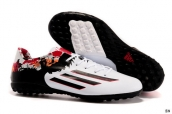 Adidas Messi 10-3 TF White-Granite-Scarlet