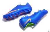 Nike Mercurial Superfly 4 FG Boots Blue Orange Green