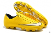 Nike Mercurial Superfly 4 FG Boots Yellow White