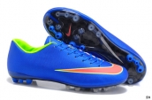 Nike Mercurial Vapor X CR AG boots Blue Orange Green