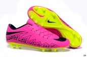 Nike Hypervenom Phelon 2 FG Boots Rose Red Black