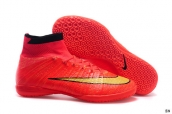 Nike Elastico Superfly IC boots Red Golden Black