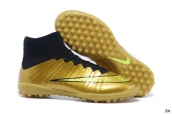 Nike Elastico Superfly IV TF boots Golden Black