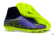 Nike Hypervenom Phelon 2 FG Boots Purple Black Green