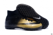 Nike Mercurial Superfly CR7 TF boots Black Golden
