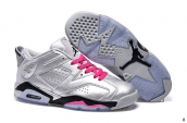 Women AAA Air Jordan 6 Low Valentine's Day