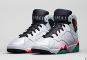 AAA Air Jordan 7 Women White Green Black Red 140