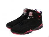 AAA Air Jordan 7 Women Black Red 140