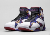 AAA Air Jordan 7 Women White Black Purple Red 140