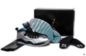 Women AAA Air Jordan 10 Retro Lady Liberty Silvery Black