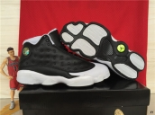 AAA Air Jordan 13 Oreo Black White