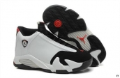 Air Jordan 14 White Black