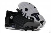 Air Jordan 14 Dark Grey Black White