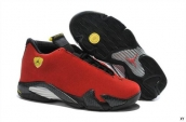Air Jordan 14 Red Black AAA