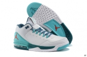 Air Jordan CP3 VIII White Light Green Blue Red