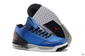 Air Jordan CP3 VIII Blue Black Red White Grey