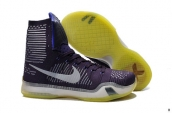 Nike Kobe X High Purple White