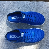 Adidas Mesh Slippers Blue White