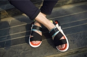 Adidas Y3 Kaohe Sandal1 Orange Black1