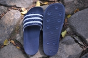 Adidas Slippers Blue White