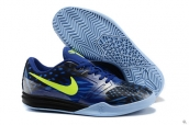 Nike Kobe Mentality Black Blue Fluorescent Green