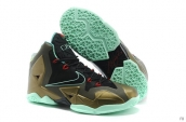 Nike Lebron 11 Kids Bronze Black Green