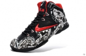Nike Lebron 11 Kids Cola White Black Red