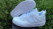 AAA Air Jordan 4 HF Leather White 170
